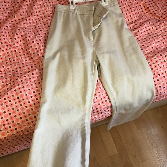 Wilfred Free Cream Wide Length Pants